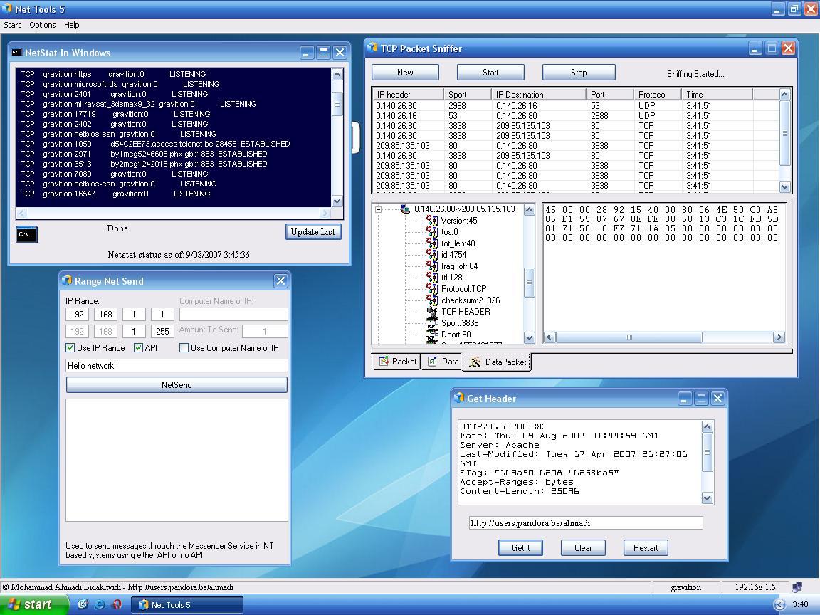 Essential nettools 4. 4   software downloads   techworld.
